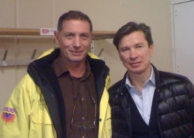 Avec Slava Bykov